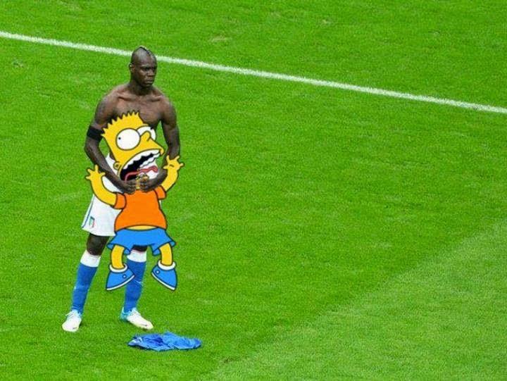 Mario Balotelli Cekik Kartun