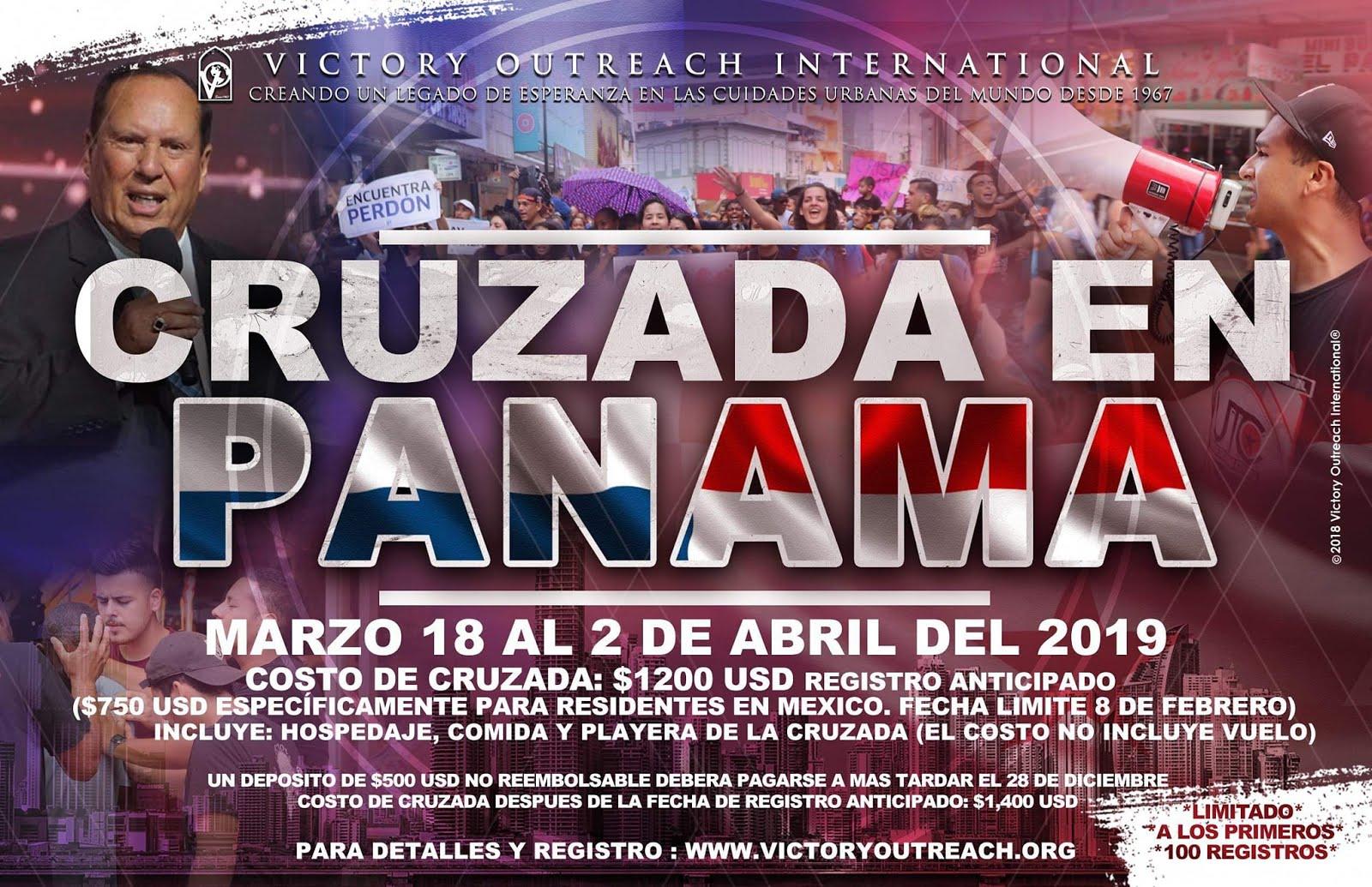 Cruzada Panamá 2019