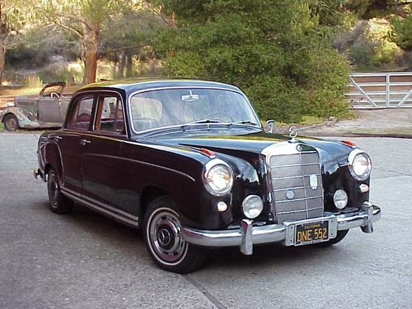 Daily turismo 10k black beauty 1956 mercedes benz 220s w180 for Mercedes benz 10k