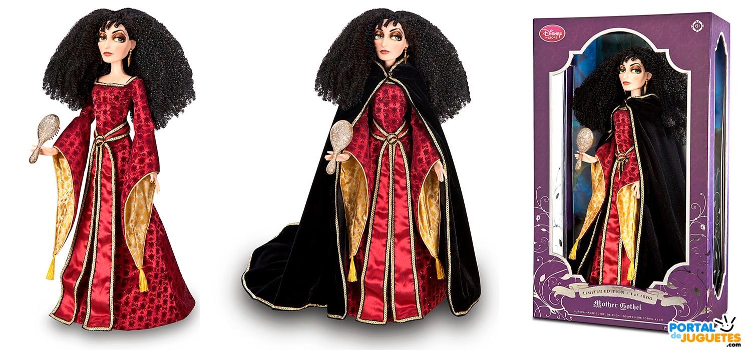 muñeca madre gothel edicion limitada caja
