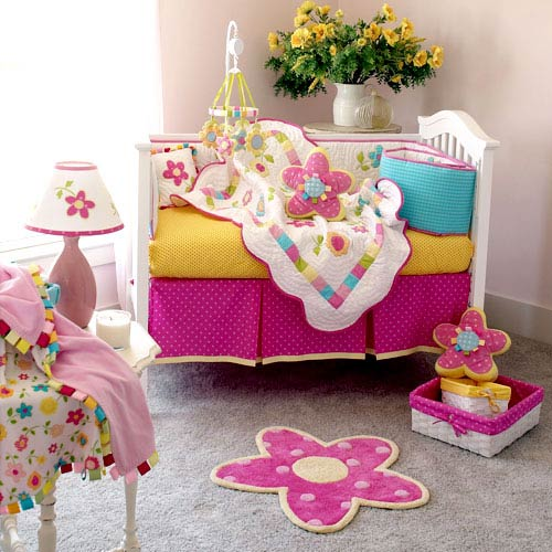 Lilibaby ideas para decorar cuarto de ni a for Decoracion bebe nina