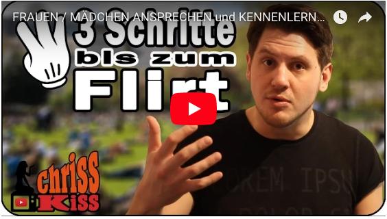 FRAUEN / MÄDCHEN ANSPRECHEN und KENNENLERNEN - in 3 einfachen Schritten! | Flirttipps für Männer