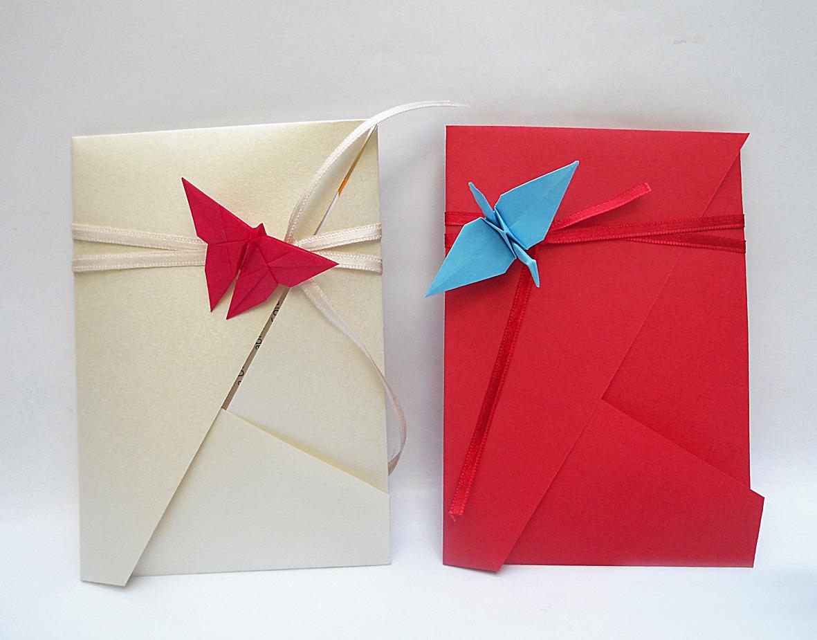 Origami sobre mariposa grulla4