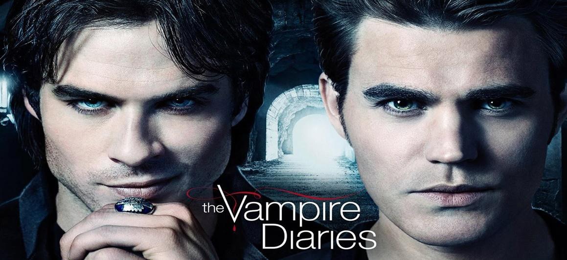 VC faz TVD - Diários de um Vampiro