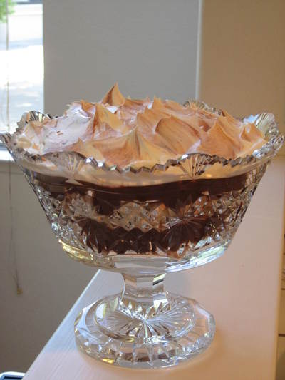 Chocolates: delicious chocolate trifle