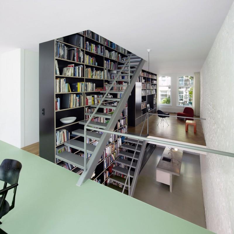 Loft dise o y planos de una moderna casa construye hogar for Diseno industrial casas