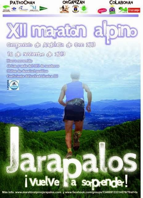 XII MARATON ALPINO JARAPALOS
