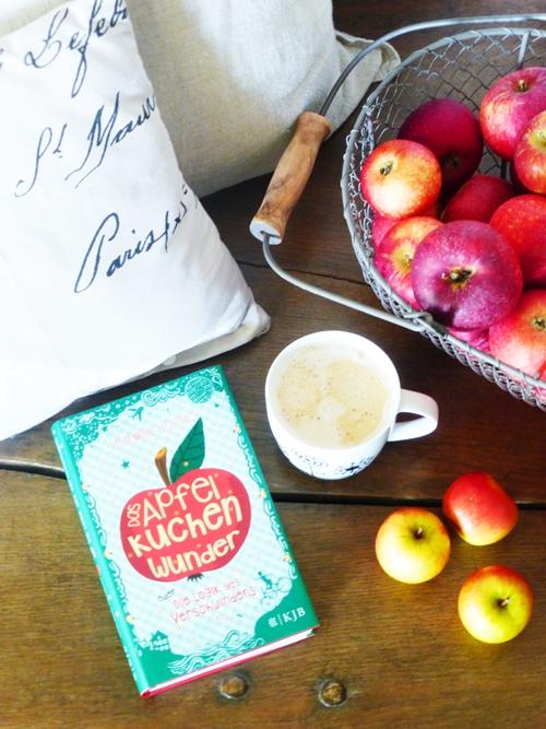 Buch Apfelkuchenwunder Äpfel Kaffee