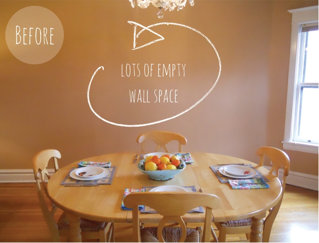 Diy Wall Decor For Dining Room - c squared w thrifty dining room ...