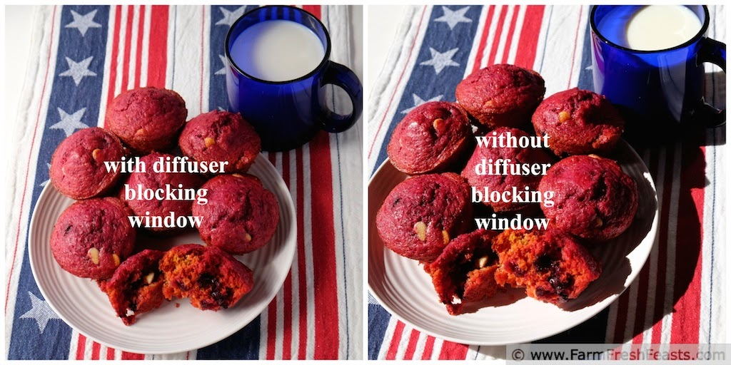 Red, White & Blue Muffins {Muffin Monday} | Farm Fresh Feasts