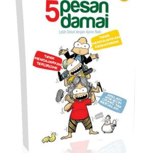 buku komik islam 5 pesan damai vbi djenggoten penerbit zahira