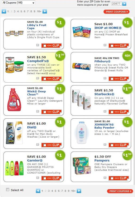 Daily coupons inbox