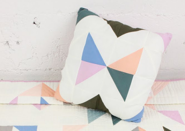 Tutorial | Indian Summer Quilt Pillow