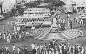 PRAÇA DA SÉ EM  1970