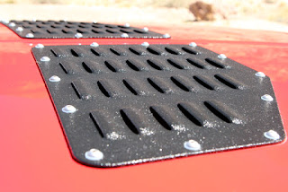 OR-Fab Jeep XJ Cherokee American Rock Rod hood louvers
