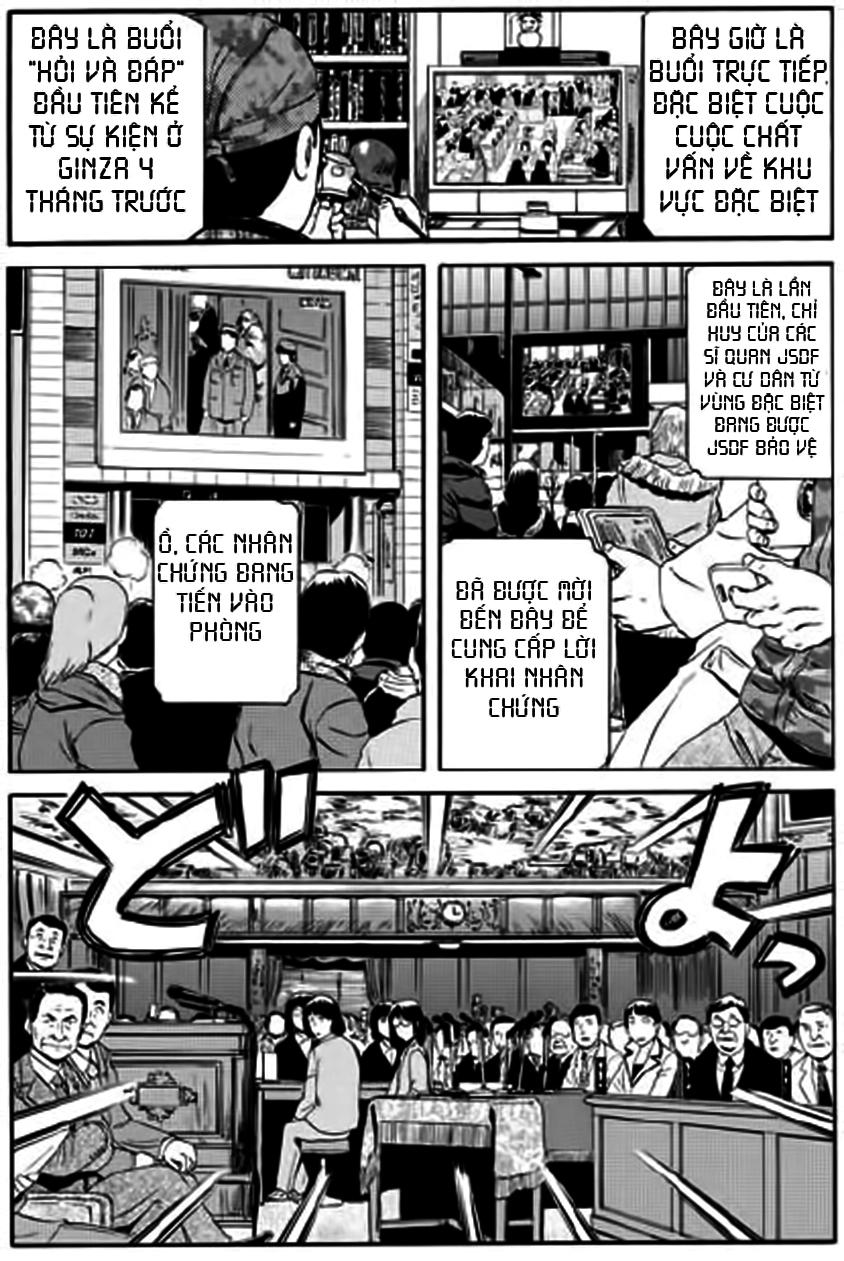 Gate – Jietai Kare no Chi nite, Kaku Tatakeri chap 18 Trang 1 - Mangak.info