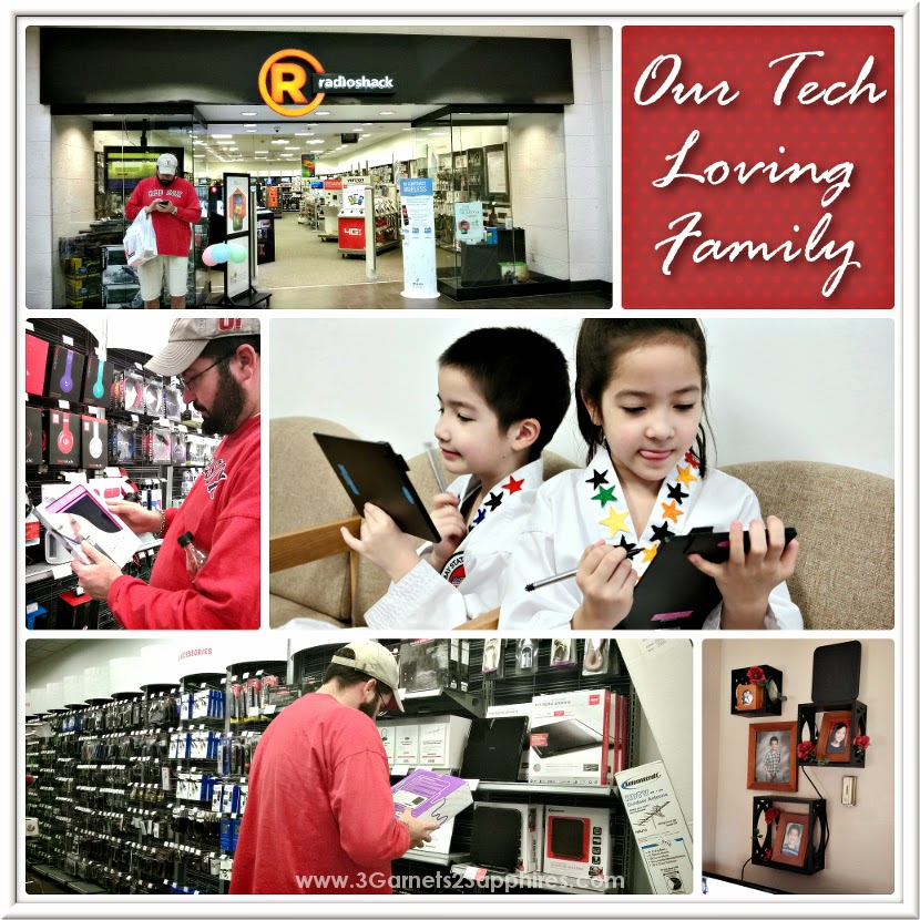 Radio Shack fits so well with our tech-loving family's lifestyle #LetsDIT #shop #cbias