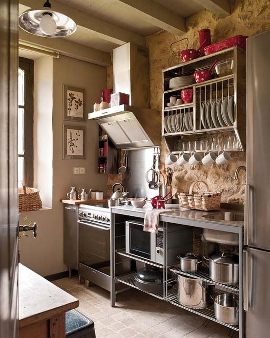 Top Querido Refúgio - Blog de decoração: Microondas x cozinha pequena  HR76