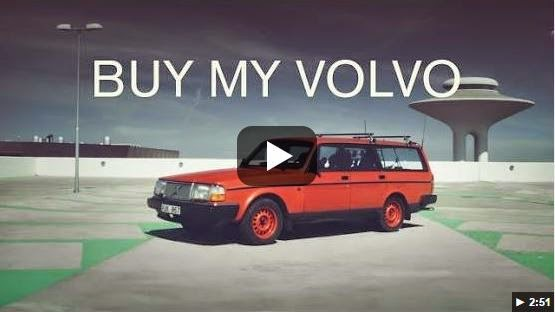 Buy my Volvo from Swedish art director Christofer Castor
