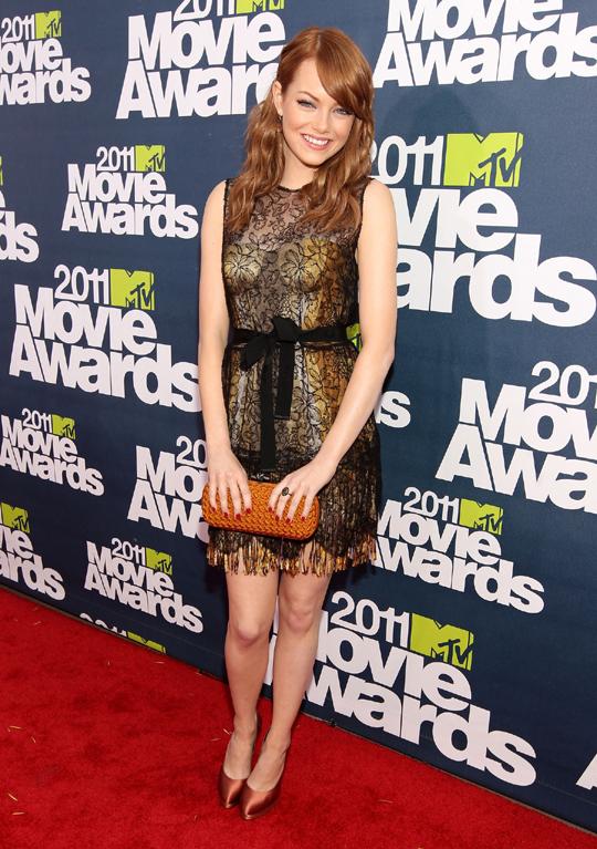 2011 MTV Movie Awards Emma Stone