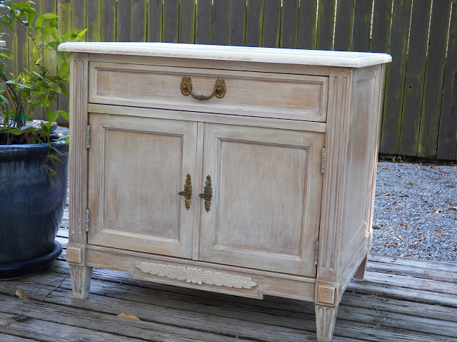 whitewash wood furniture the nightstands we39re a light wood and the marble  tops were missing after ...