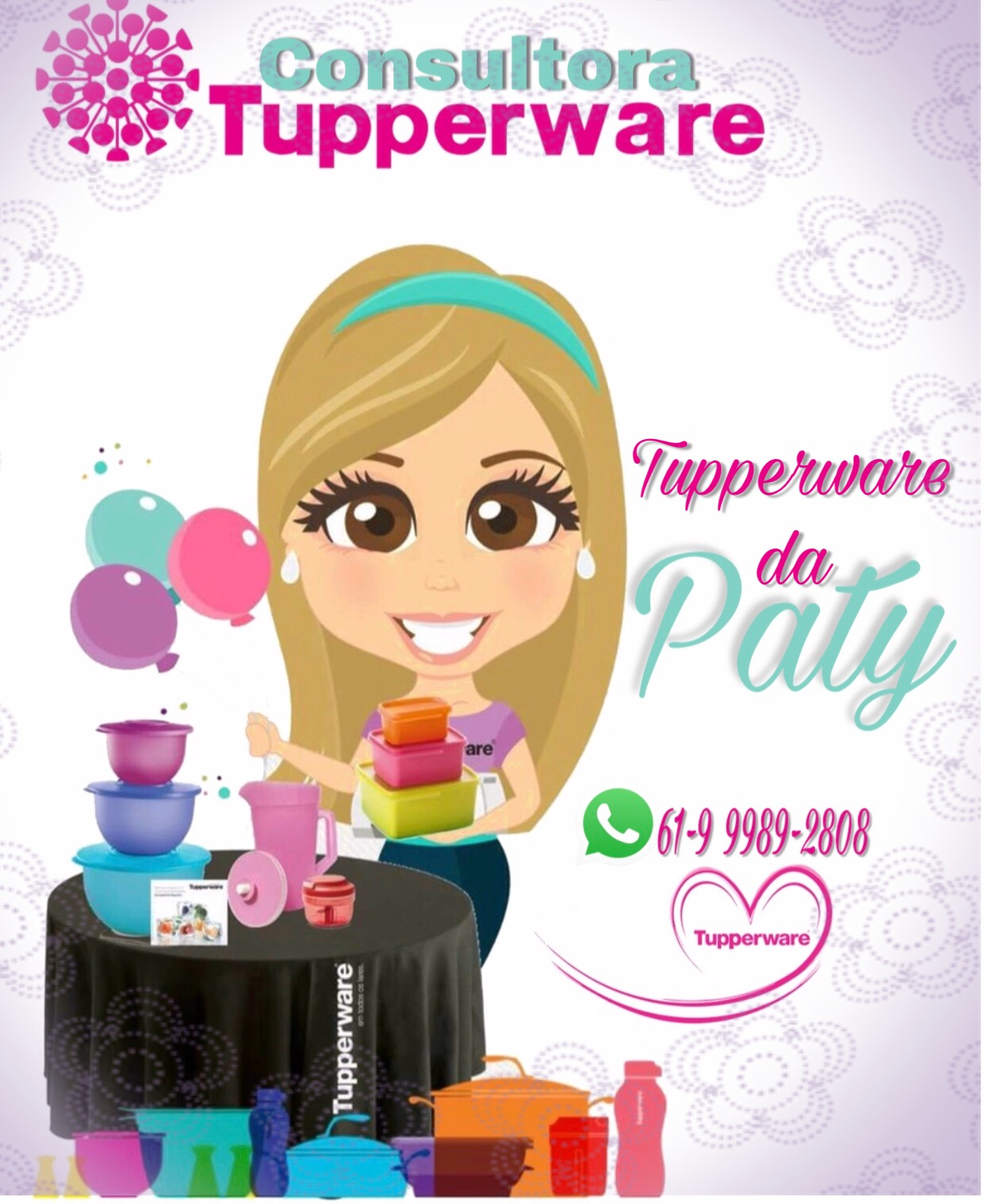 Tupperware da Paty