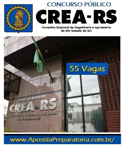 Apostila  Conselho Regional de Engenharia RS - Concurso Público Crea-RS 2014.