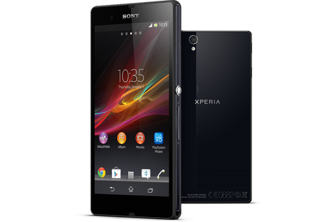 Sony, Android Smartphone, Smartphone, Sony Smartphone, Sony Xperia Z, Xperia Z, Qualcomm, Snapdragon 800, Qualcomm Snapdragon 800