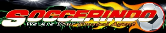 Logo SoccerIndo - We Are Your Trusted Agent - BerbagiPrediksi.Blogspot.Com