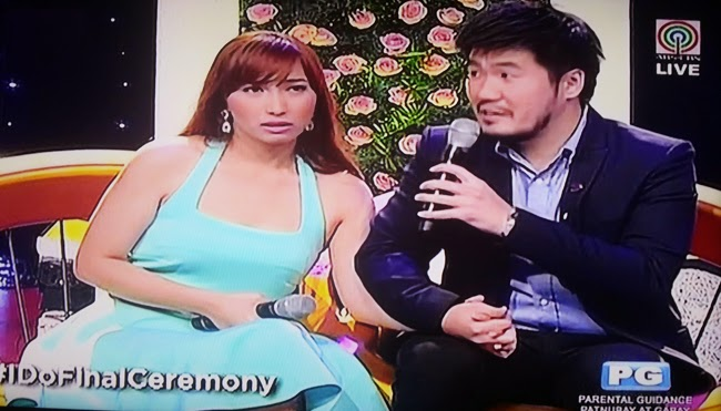 Jimmy and Kring as the First 'I Do' Grand Couple Winner