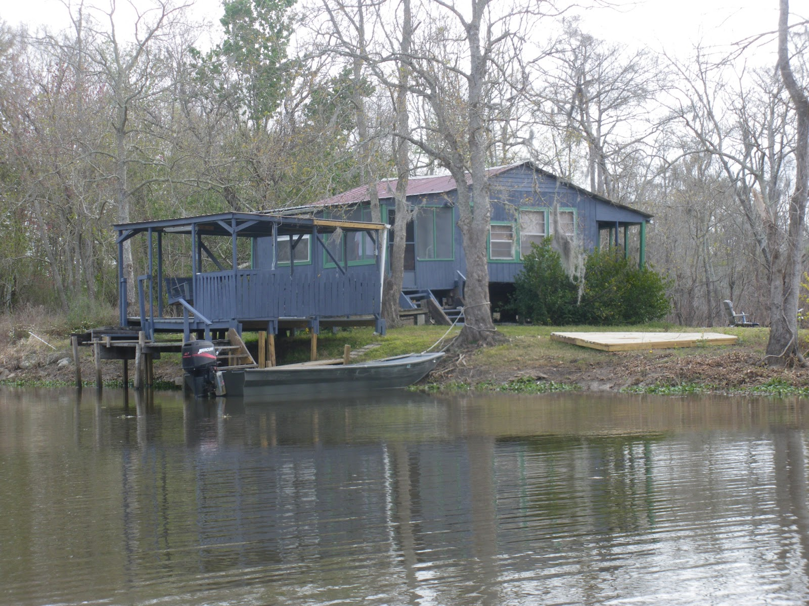 Have 1 airstream will travel march 2013 for Louisiana fishing camps