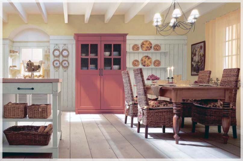 Minacciolo land kjøkken med italiensk stil   interiør inspirasjon