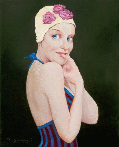 Fred Calleri 1964 | American Figurative painter