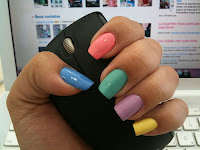 love this colours! #nails