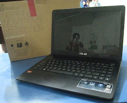 jual asus x401u 2nd