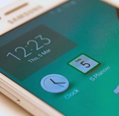 Samsung Galaxy S6, Fitur Jam Dan Aplikasi Kalender Ikon Baru
