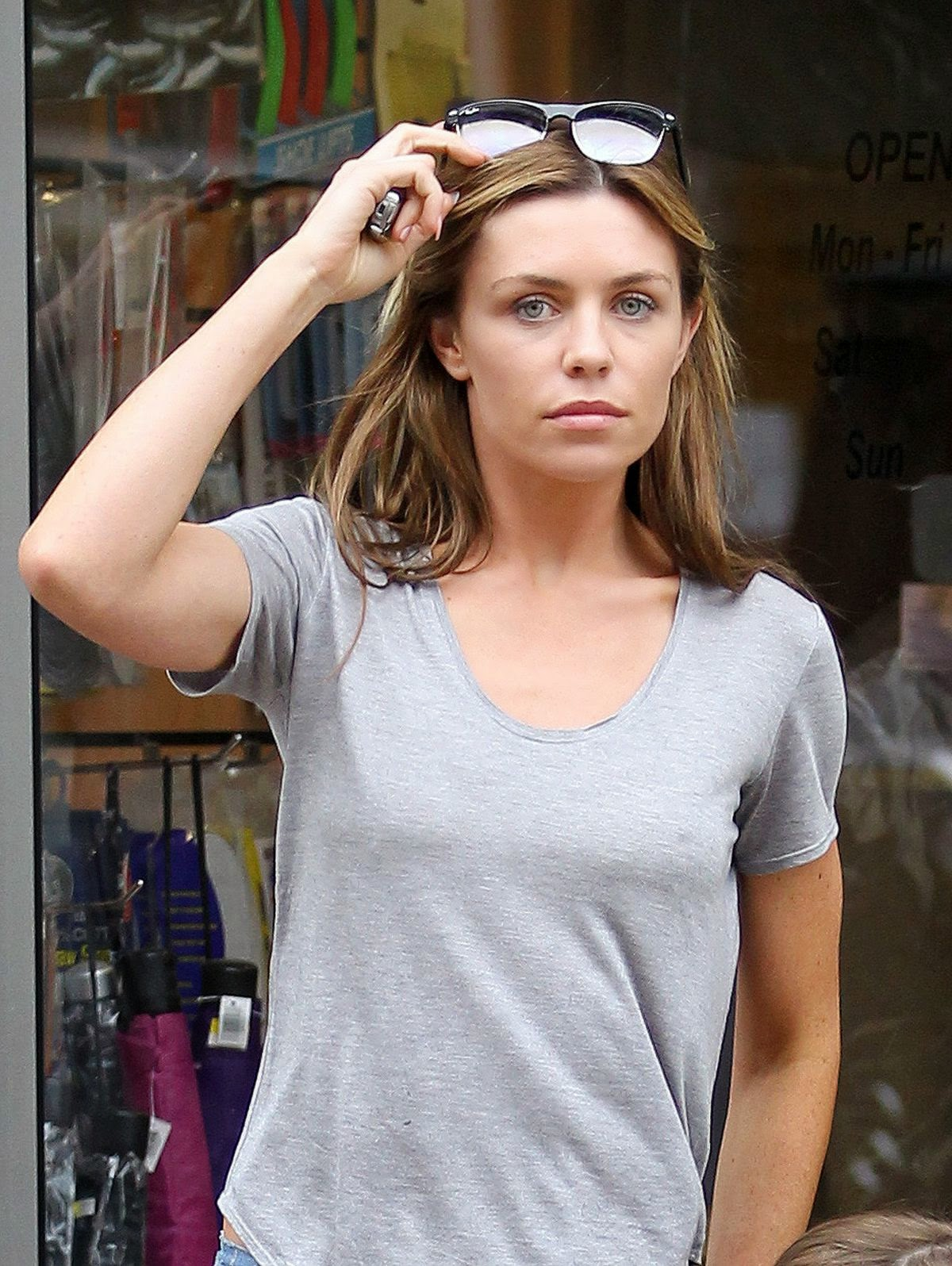 Abigail Abbey Clancy - Out and About in North London