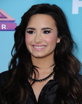 Demi Lovato Pretty at The X Factor Finalists Party