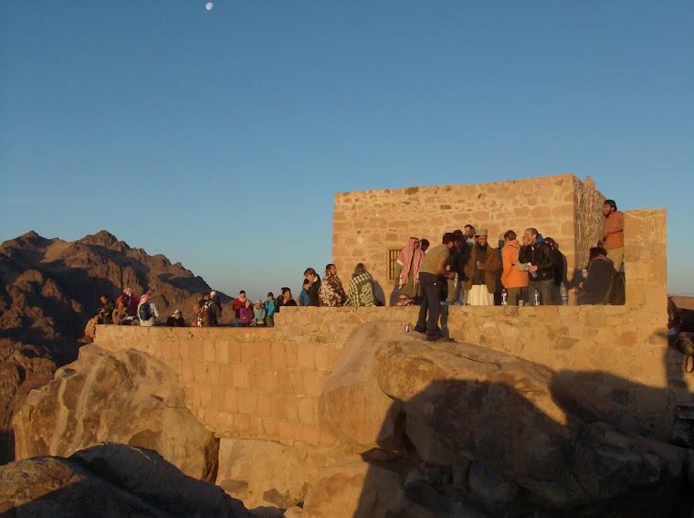 Mt Sinai - the top