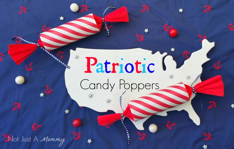 Patriotic Candy Poppers