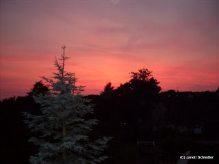 Sonnenuntergang von Balkonien