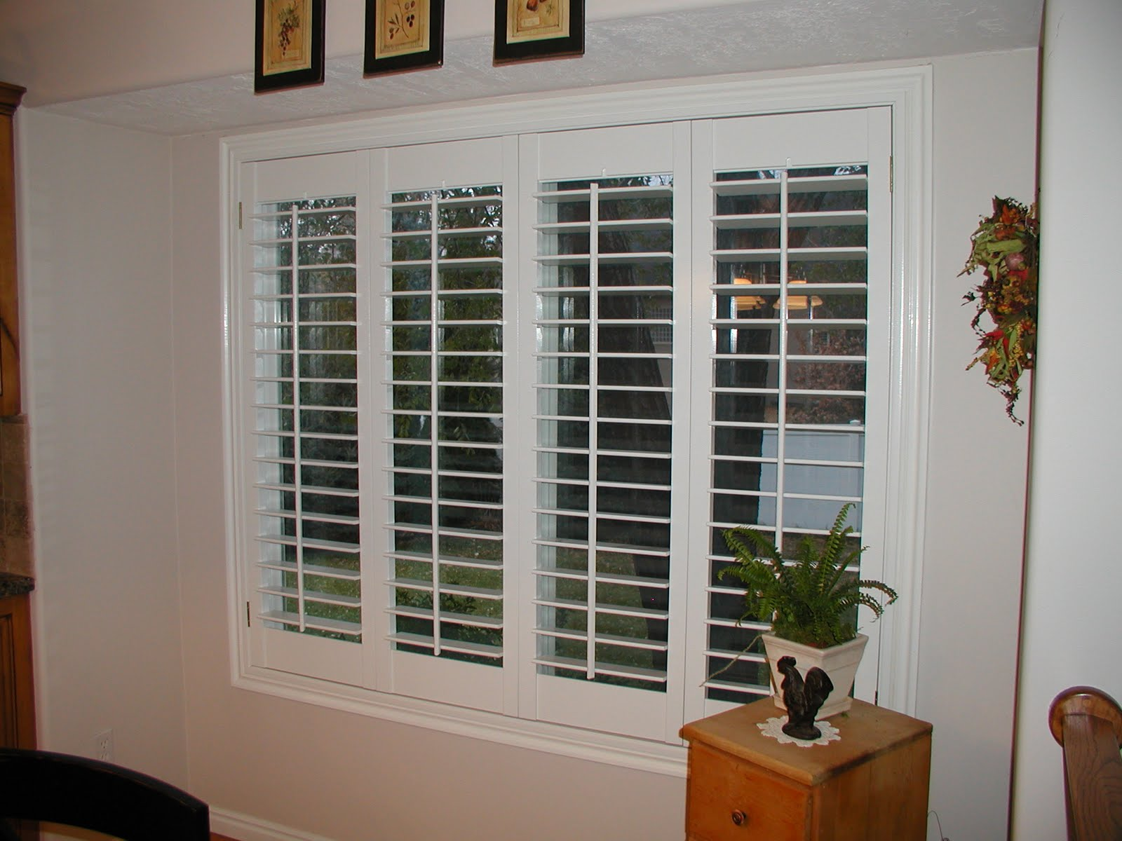 Indoor shutters for windows 2017 grasscloth wallpaper for Window shutters
