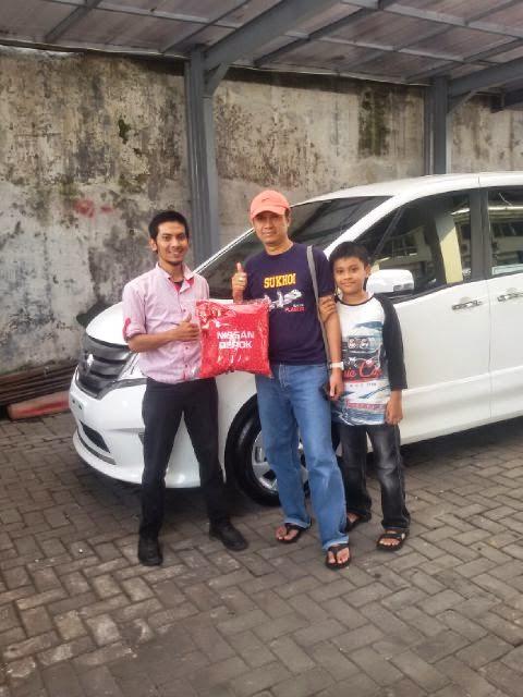 Terimakasih atas kepercayaan Pak Satria&Keluarga yg telah membeli Nissan Serena melalui media www.touchnissan.com.  Semoga Berkah ya Pak...