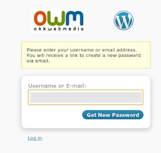 recuperare parola wordpress -owm