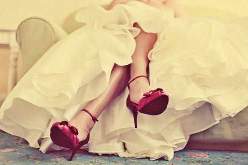 Color Bridal Shoes