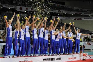VOLEIBOL-Los rusos son los mejores del mundo 2011