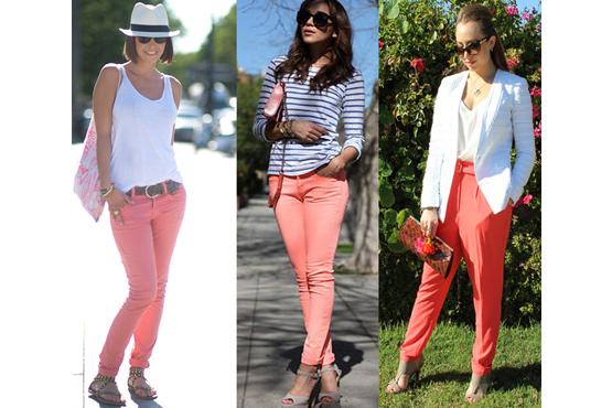 trouvez votre beauté: pantalons colorés : apprenez à les utiliser