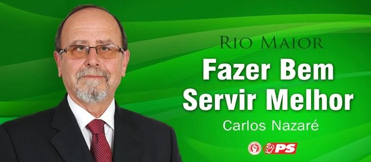 RENOVAR A ESPERANÇA, RETOMAR O DESENVOLVIMENTO - VOTA CARLOS NAZARÉ!