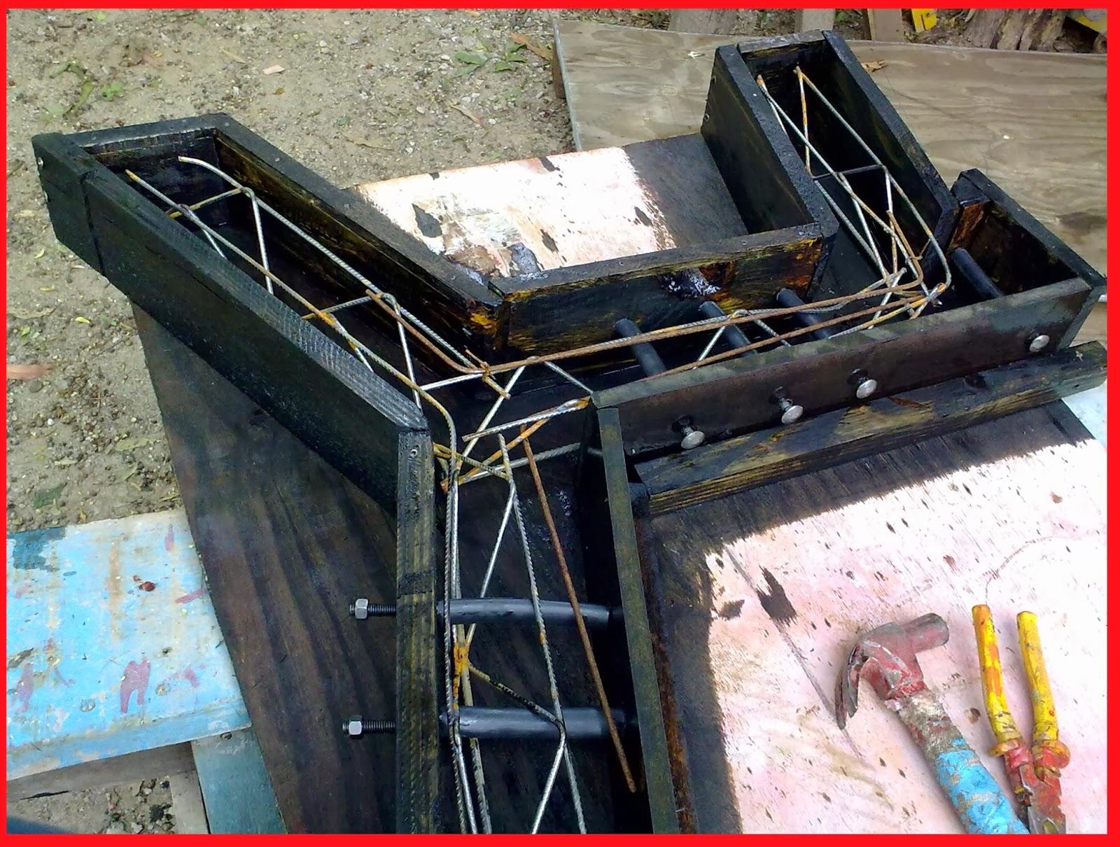 EletricistaMárioblogspot Mesas e bancos de concreto para jardim
