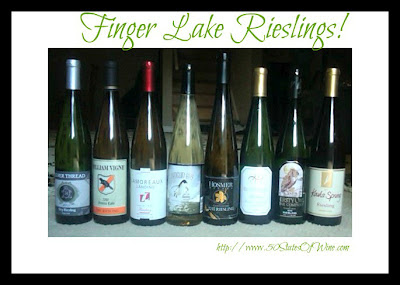 Finger Lakes Rieslings